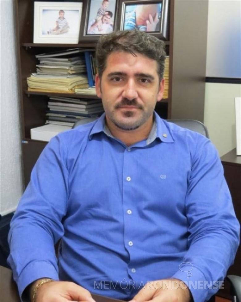 Empresário Paulo Rodrigo Copetti eleito Presidente da Acimacar, gestão 2015-2016, em 07 de abril de 2015. Imagem: Acervo O Presente - FOTO 5 -