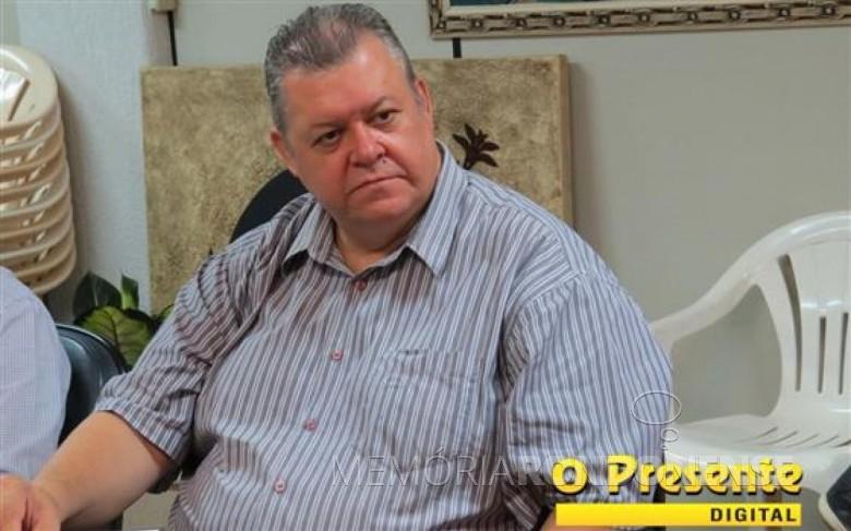 Empresário Sérgio Marcucci que assumiu a Secretaria de Indústria, Comércio e Turismo, de Marechal Cândido Rondon, em 20 de fevereiro de 2017.  Imagem: Acerco O Presente Digital - FOTO 610 -