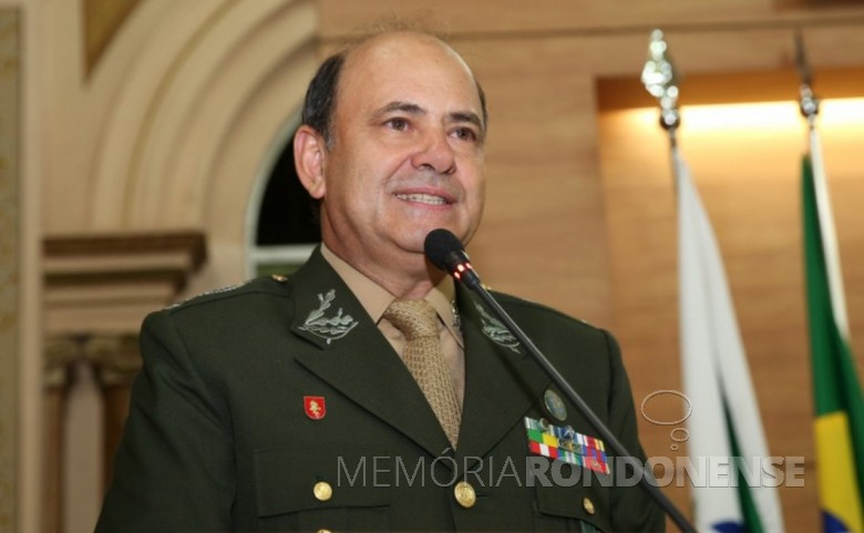 General Luiz Felipe Kraemer Carbonell  nomeado para a Diretoria de Coordenação da Itaipu Binacional, em junho de 2019.  Imagem: Tribuna dpo Paraná - FOTO 13 -