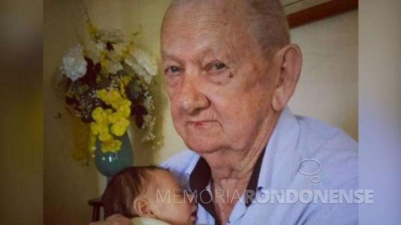 João Emílio Modes, ex-prefeito de Nova Santa Rosa, falecido em final de novembro de 2018.  I magem: Acervo Marechal News - FOTO 10 -