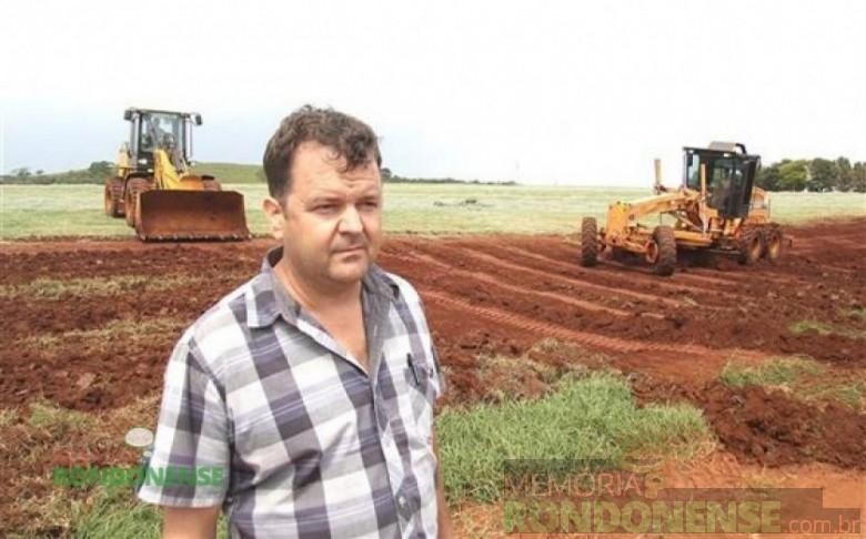 Vereador e secretário de Agricultura e Políticas Ambientais de Marechal Cândido Rondon.  Imagem: Acervo O Presente - FOTO  5 -
