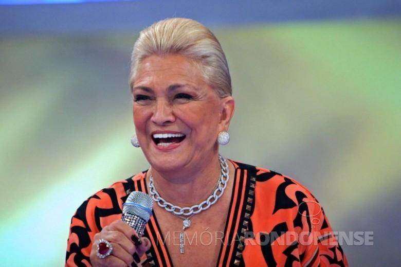 Apresentadora Hebe Camargo falecida em setembro de 2012.  Imagem: Acervo Famosos na Web - FOTO 4 -
