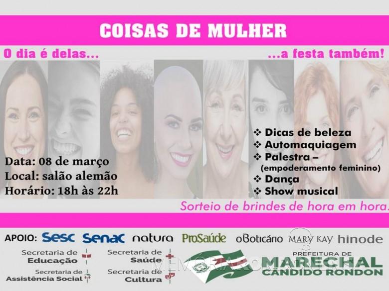 Cartaz-convite para o evento