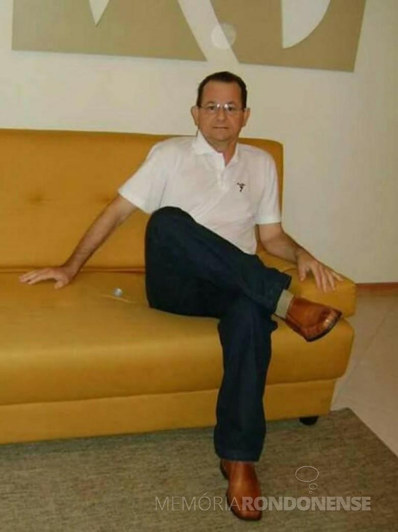 Empresário Álvaro Steinmacher falecido em dezembro de 2009.  Imagem: Acervo da Família - FOTO 4 -