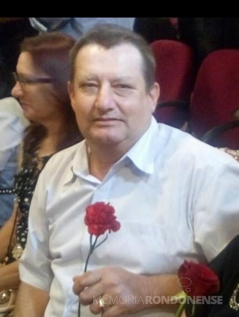 Pioneiro rondonense Egon Lindner falecido em final de novembro de 2018.  Imagem: Acervo pessoal - FOTO 9 -