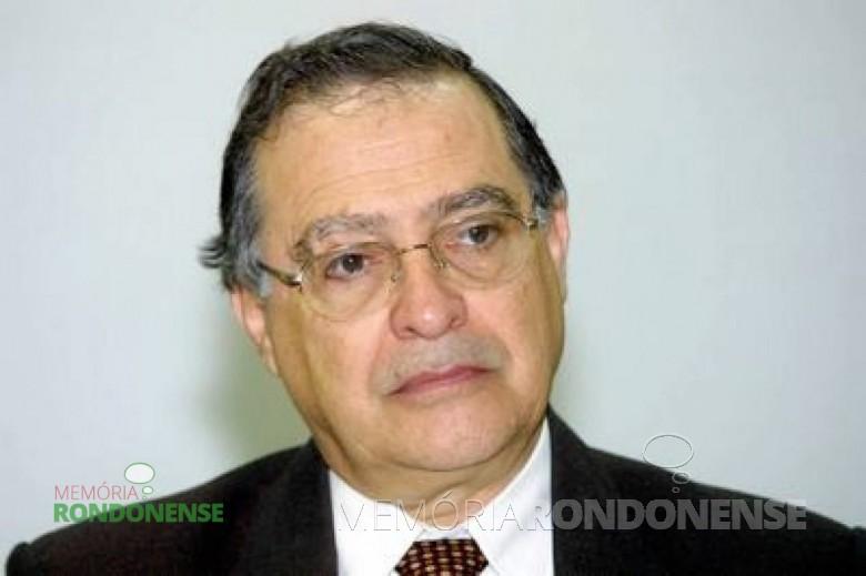 Carlos Frederico Marés de Souza Imagem: Acervo memoriarondonense.com.br