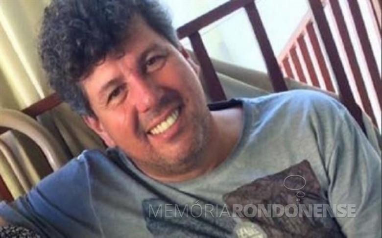 O empresário rondonense Willian da Silva Filho morto em acidente de carro na rodovia PR-491. Imagem: Acervo O Presente - FOTO 10 -