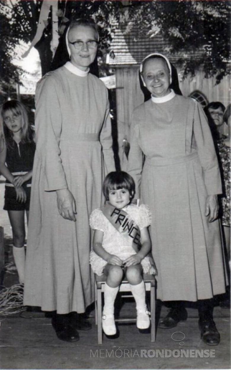 As irmãs pioneiras Adelhard (e) e Maria Gertildes. Imagem: Acervo Memória Rondonense - FOTO 4