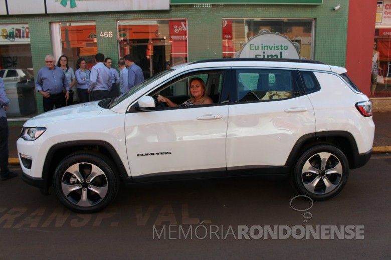 Associada Beatriz Mendonça de Paula, da cidade de Guaíra (SP), ganhadora final da campanha
