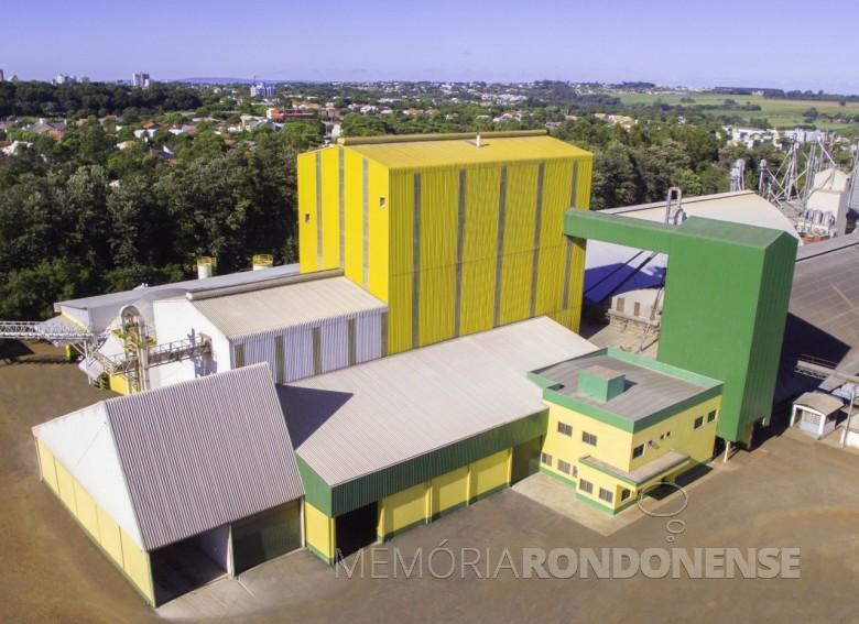 Novas instalações da Unidade Industrial de Rações da Copagril, inaugurada em fevereiro de 2017.  Imagem: Acervo Imprensa Copagril - Crédito: Carina Ribeiro - FOTO 8 -