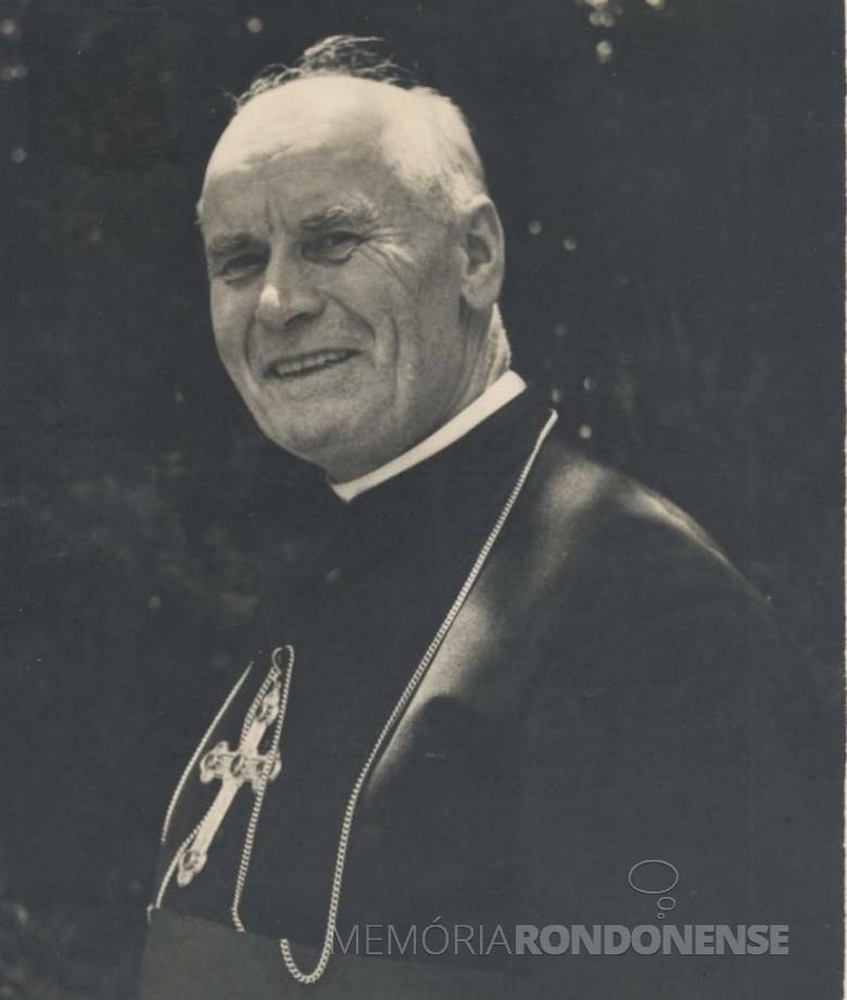 D. Manoel Könner, primeiro bispo da então Prelazia de Foz do Iguaçu, foi ordenado sacerdote da Congregação do Verbo Divino, em 13 de setembro de 1910.  Imagem: Acervo Mitra Diocesana de Campo Mourão - FOTO 4 -