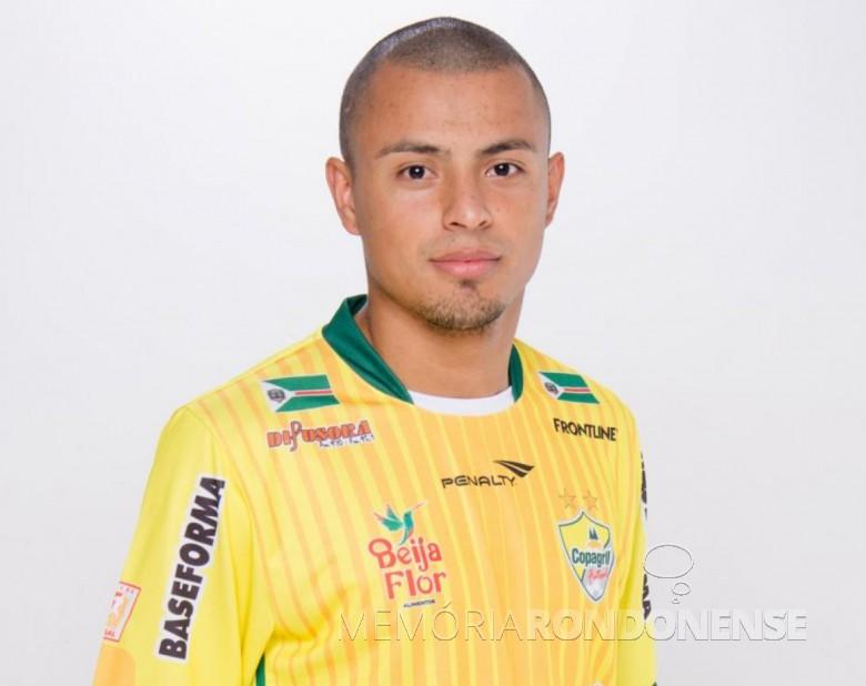 Atleta Barbosinha que deixou de integrar o elenco da Copagril Futsal para a sequência da temporada 2019, em 22 de maio.  Imagem: Acerco Copagril Futsal - FOTO 12 -