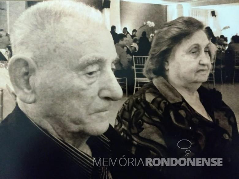 Pioneiro Marianino Ricardi  falecido em março de 2013.  Imagem: Acervo da familia - FOTO 4 -