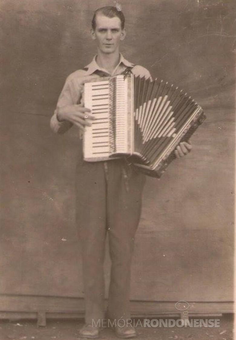 Pioneiro rondonense Edgar Engelmann falecido em 18 de setembro de 1955.  Imagem: Acervo Vilton Graff - FOTO 4 -