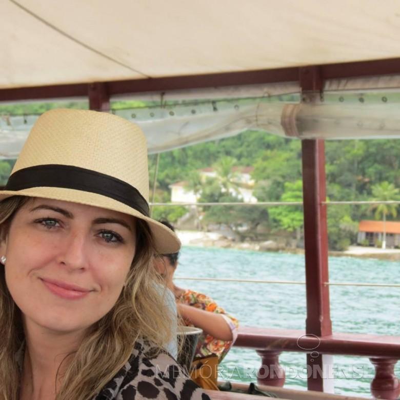 Roberta Cantareli que assumiu docência na Universidade Nacional de Brasil (UnB), em janeiro de 2019. Imagem: Acervo pessoal - FOTO 4 -