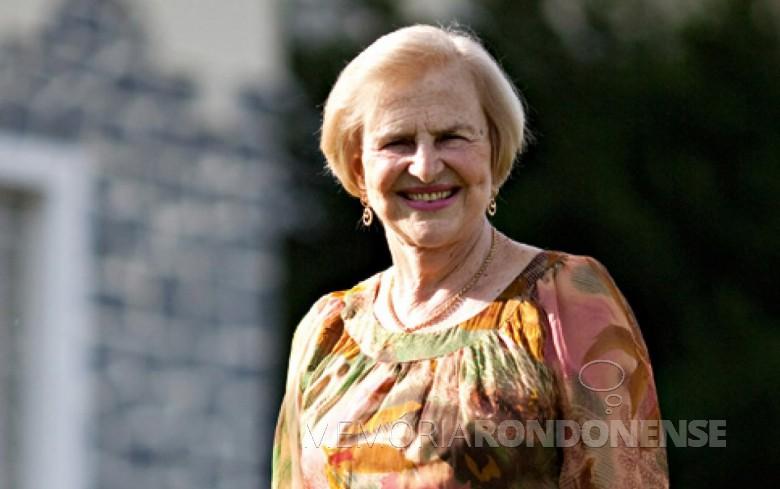 Zilda Arns Neumann, coordenadora internacional da Pastoral da Criança, morta no Haiti em janeiro de 2010.  Imagem: Acervo Revista Isto é - FOTO 3  -
