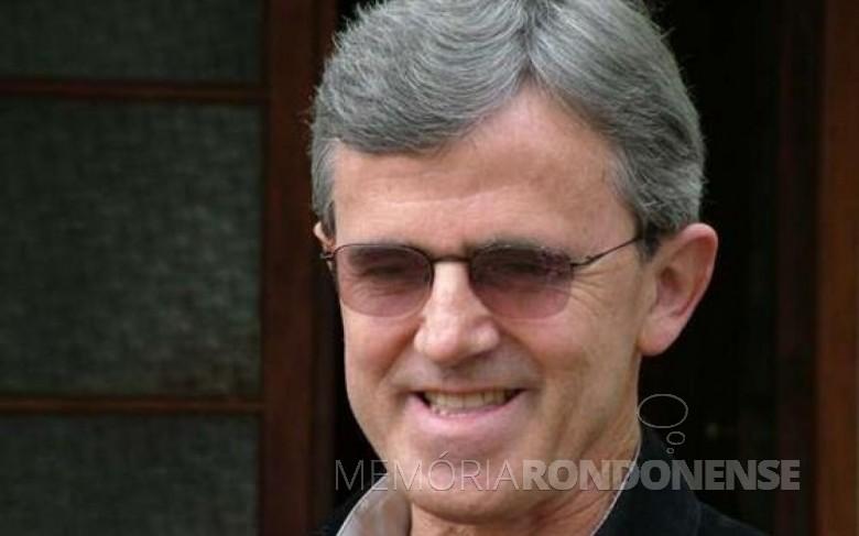 Padre diocesano Hugo José Rohden, de família de Quatro Pontes, falecido em 12 de março de 2017. Imagem: Acervo CATVE - FOTO 4 -