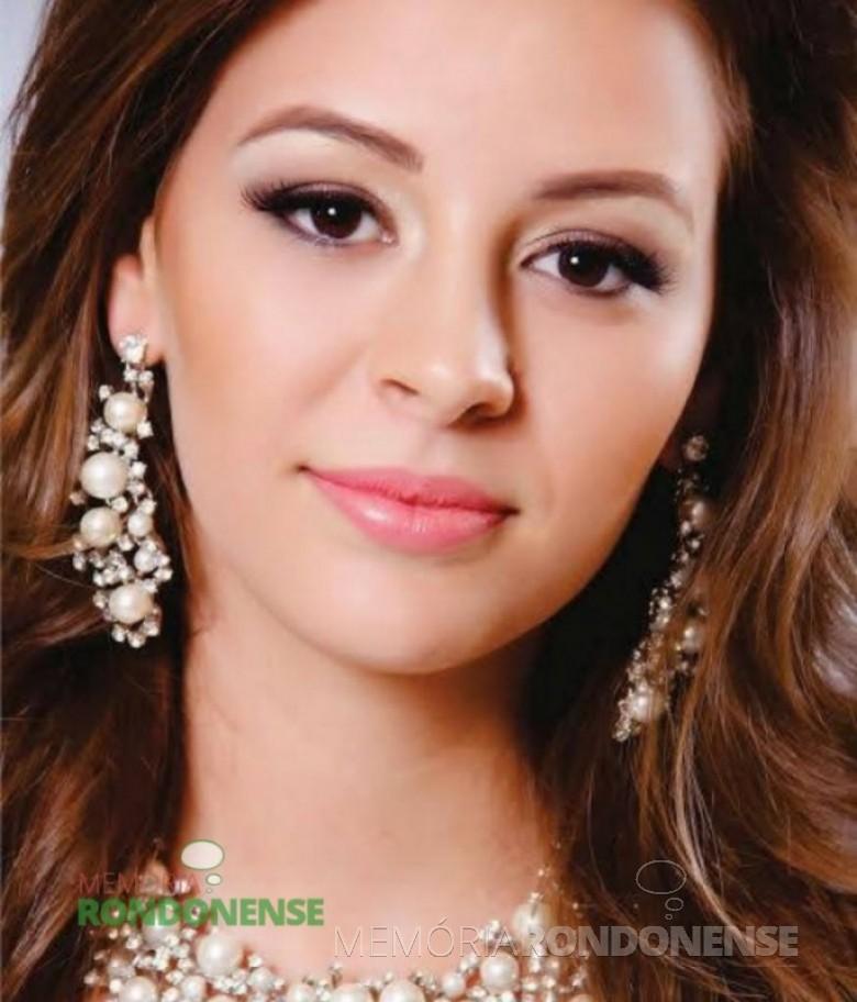 Ionara Ruver – Miss Entre Rios do Oeste 2013.   Imagem: Acervo BMW Eventos – FOTO  8 -