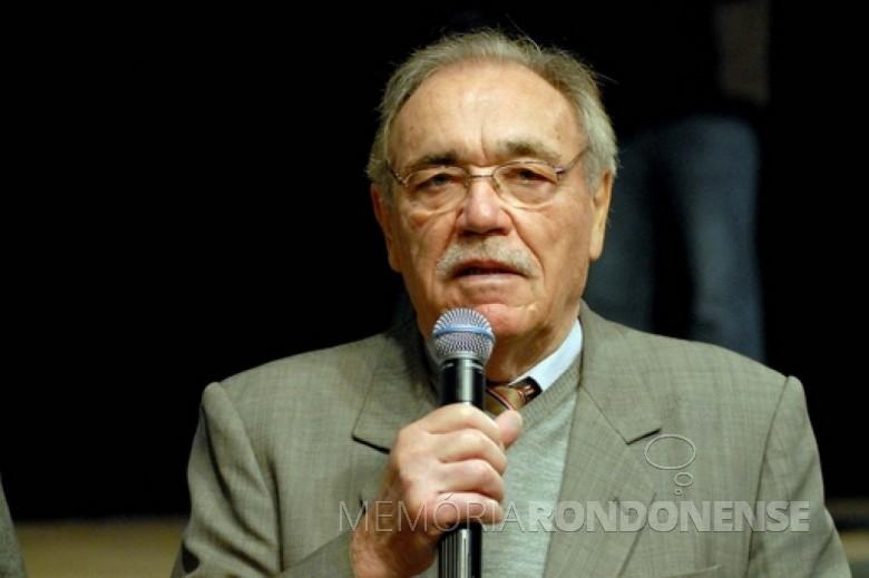 Toledano Duílio Genari, nascido em maio de 1937.  Imagem: Acervo AEN - FOTO 2 -