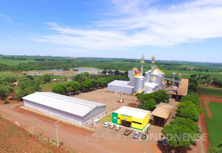 Unidade da Copagril em Oliveira Castro, Guaíra, reinaugurada em novembro de 2018.  Imagem: Acerco Comunicação Copagril - Crédito: Assessoria Copagril - FOTO 43 -