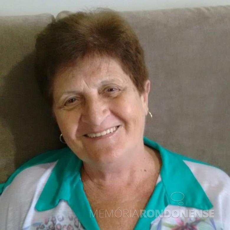 Rondonense Vera Dockhorn Dreher falecida em junho de 2019.  Imagem: Acervo O Presente - FOTO 4 -