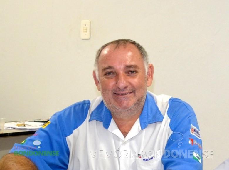 Empresário e esportista Marilton Barcé eleito presidente da Liga Rondonense de Esportes para o ano de 2016.  Imagem: Acervo O Presente - FOTO 10 -