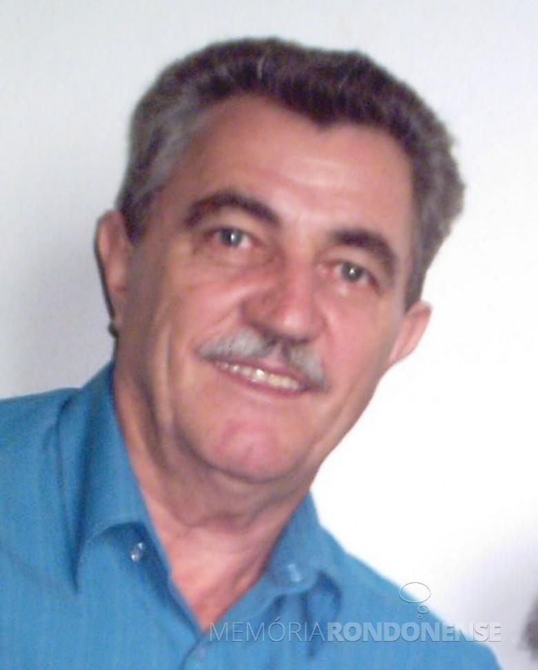 Pioneiro e empresário Egon Scherer , falecido em 24 de maio de 2005.  Imagem: Acervo Gilson Scherer