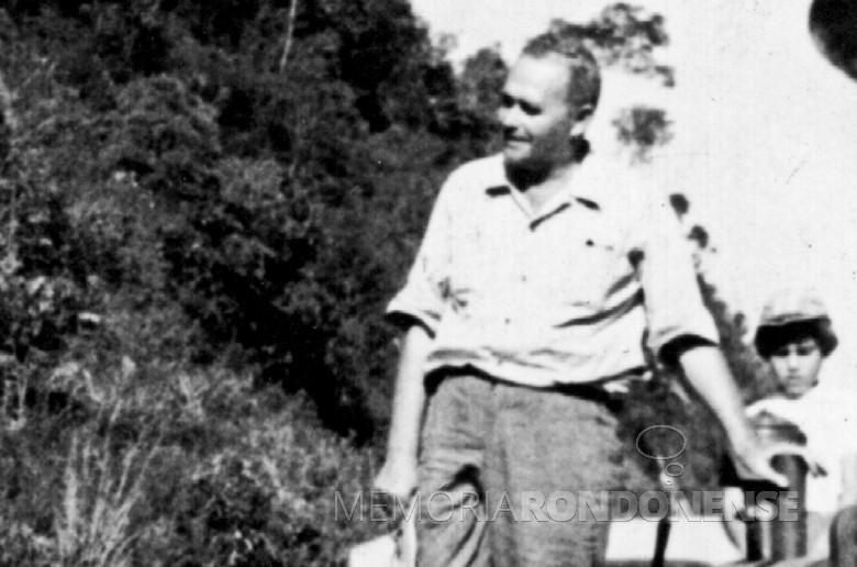 Willy Barth que assumiu como diretor-gerente da Maripá, em março de 1949.  Imagem:  capa do livro Willy Barth - Uma biografia - Toledo (PR).  -- FOTO 1 -