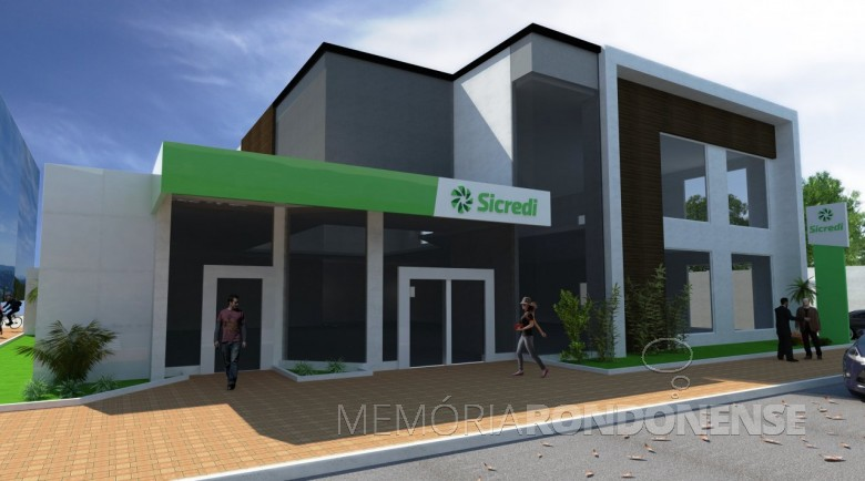 Fachada da unidade do Sicredi Aliança PR/SP, na cidade de Jaboticabal, SP.  Imagem: Acervo do Sicredi Aliança PR/SP - FOTO 15 -