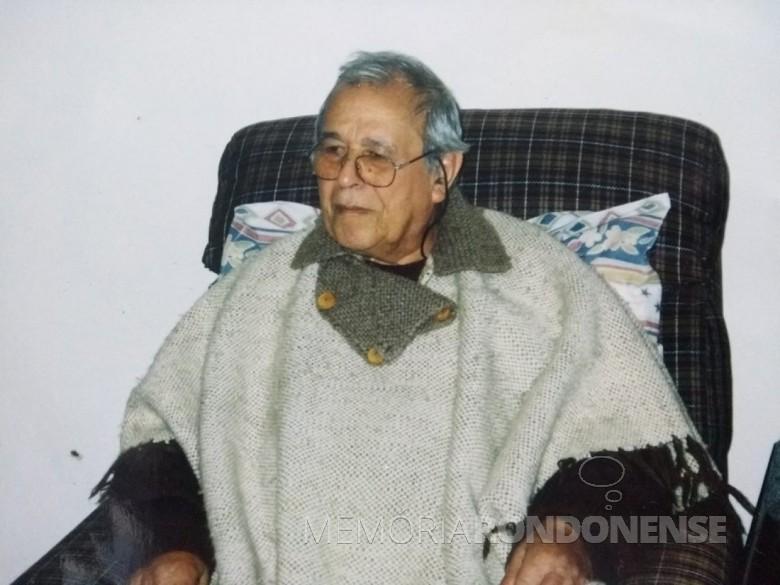 Paulo Darcy Aquino, ex-morador rondonense, falecido em fevereiro de 2004.  Imagem: Acervo Marcelo Aquino - São Paulo Capital - FOTO 6 -