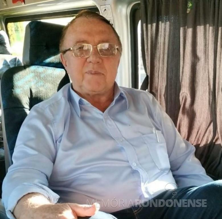 Pastor Mário Hort falecido em outubro de 2019. Imagem: Acervo Ecos da Liberdade - FOTO 14 -