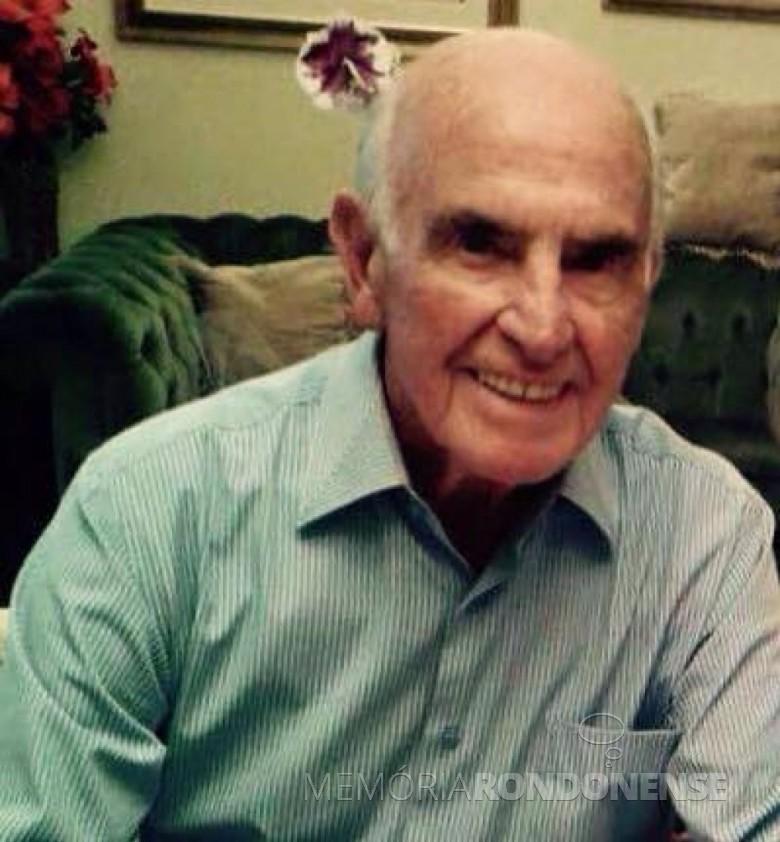 Jornalista Pedro Washington falecido em 17 de maio de 2015.  Imagem: Acervo Família - FOTO  7 -