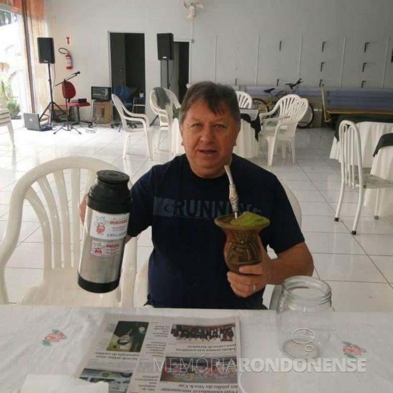 Gilberto Antonio Minosso, presidente da Assuinoeste, falecido em setembro de 2018.  Imagem: Acervo CATVE - FOTO 7 -