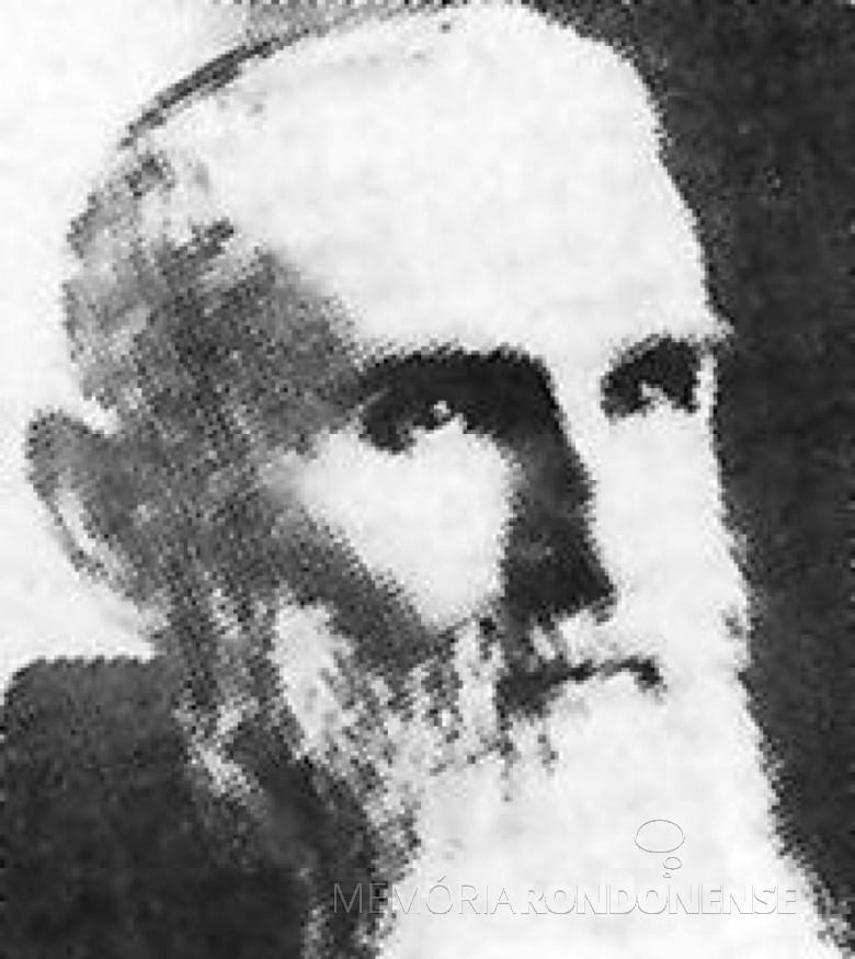 Bruno de Gillonnay, frei capuchinho pioneiro no Rio Grande do Sul. Imagem: Acervo: capuchinhos.org.br - FOTO 2 -