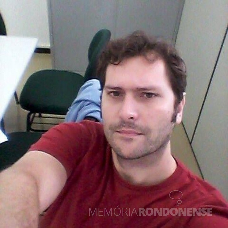 Professor universitário Alexandre Bankl Batista, do campus Unioeste - Marechal Cândido Rondon, falecido em janeiro de 2018. Imagem|: Acervo pessoal - FOTO 7 -