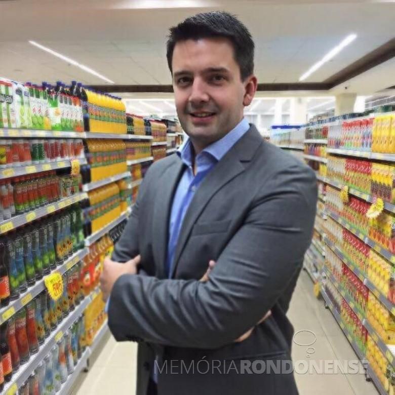 Empresário rondonense em Curitiba,  Michel Vanderlei Schwingel, falecido em julho de 2017.  Imagem: Acervo AquiAgora.net - FOTO 7 -