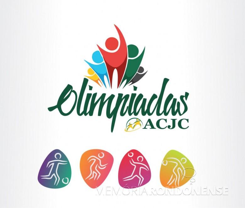 Dístico das Olimpíadas ACJC 2018. Imagem: Imprensa Copagril - FOTO 13 -