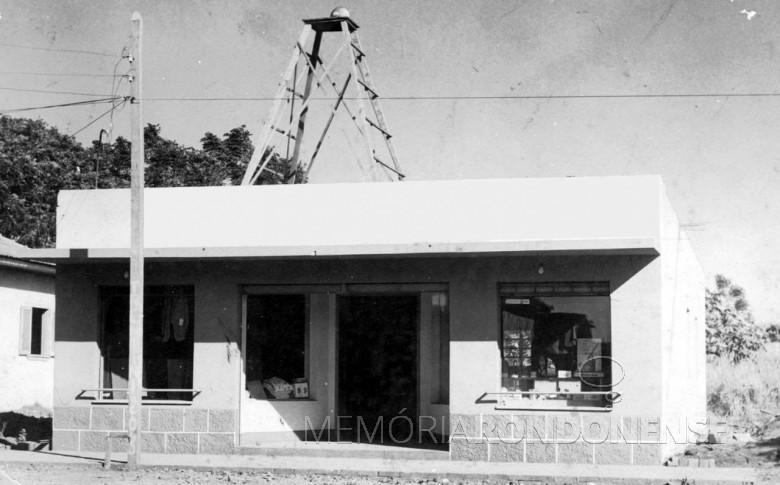 Casa Orlando em 1966, ano da abertura da loja - permanece em atividade no mesmo local ainda hoje, a Rua Tiradentes, entre a Avenida Rio Grande do Sua e a Rua Santa Catarina.  Imagem: Acervo Orlando e Rafael Sturm - FOTO 4 -