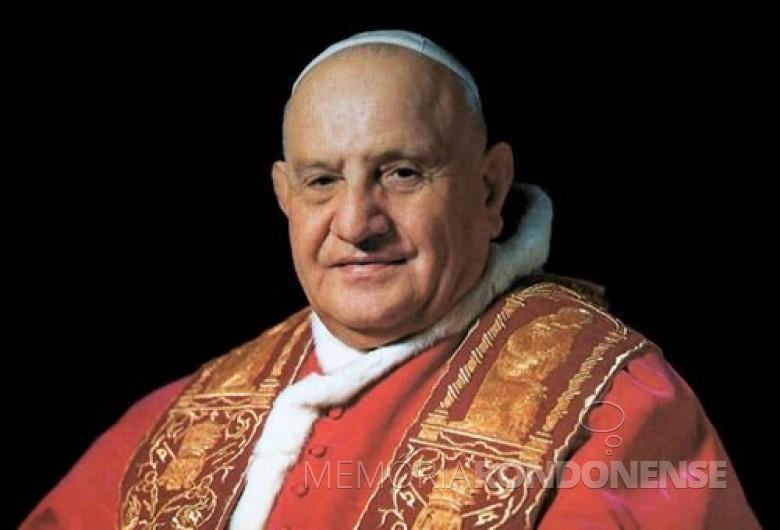 Cardeal italiano Angelo Giuseppe Roncalli, eleito como 261º Papa da Igreja Católica, com o nome de João XXIII, em outubro de 1958.  Imagem: Acervo Canção Nova - FOTO 4 -