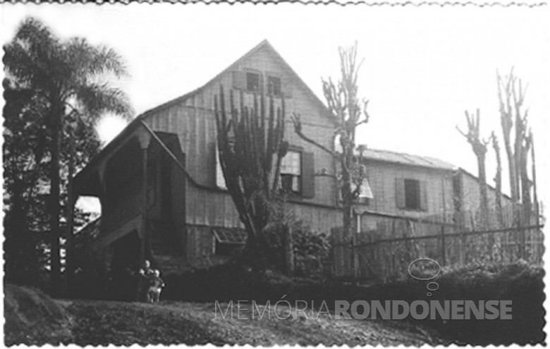 Casa da Família Seyboth, em Ipira, SC, 1951