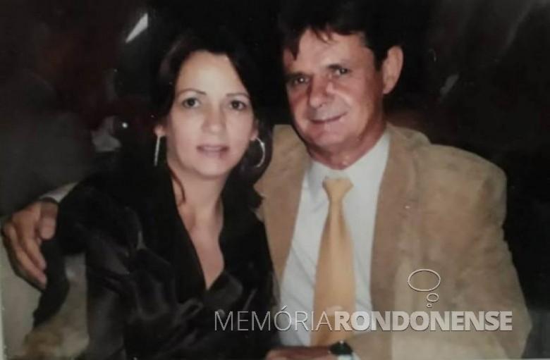 Casal Noemia e Paulo Rempel - fundadores da empresa Romagril, em 1989.