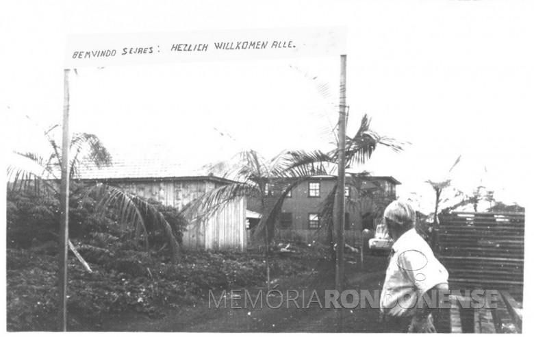 Inauguração de Vila Maripá, em 1955.