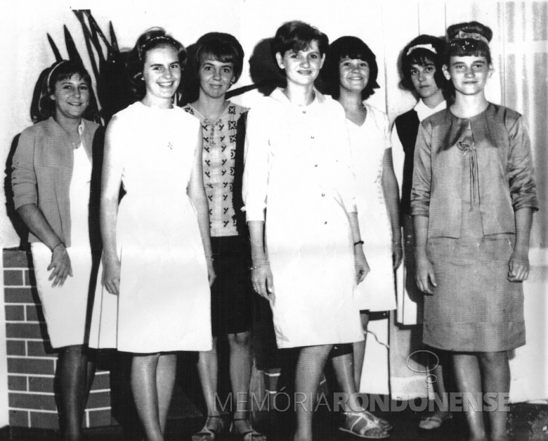 Jovens rondonenses. 1964