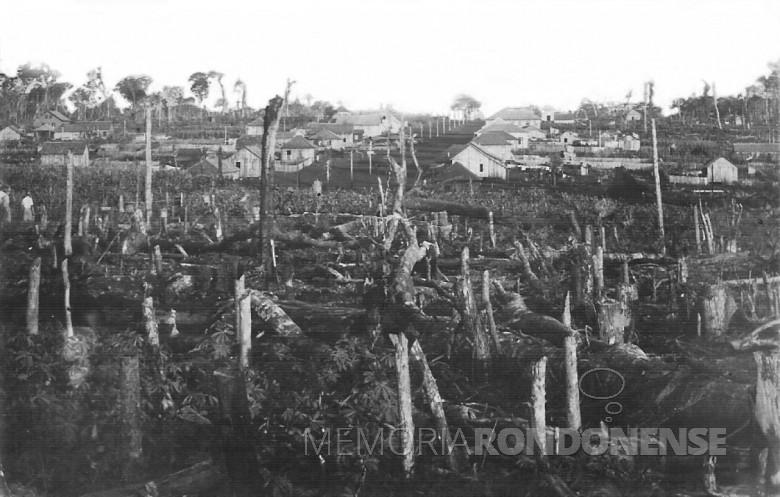 Vista de General Rondon, 1953