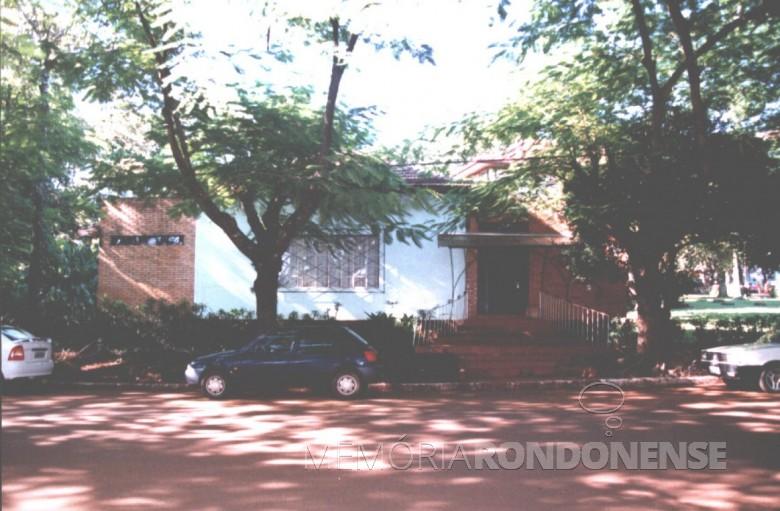 Casa da Família Seyboth - vista externa.