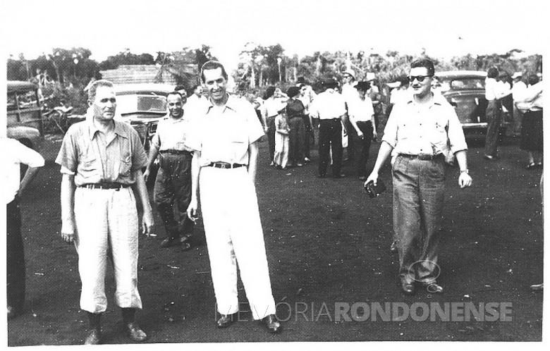 Willy Barth, à esquerda. Demais não identificados.