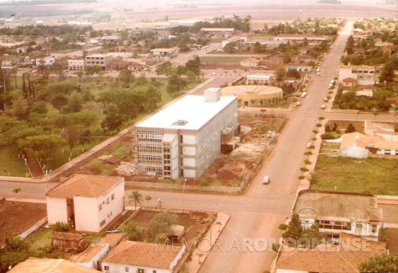 Construção da nova Prefeitura Municipal de Marechal Cândido Rondon.