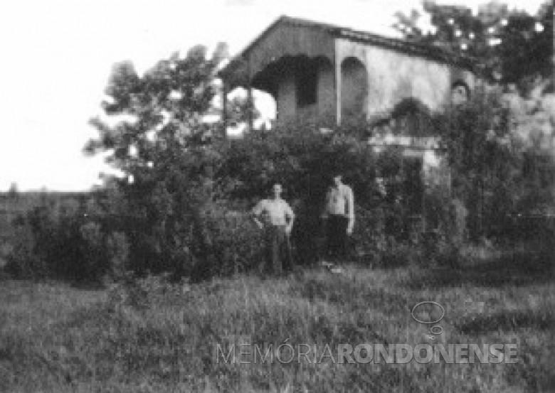 Fazenda Alica, em Porto Mendes. 1960