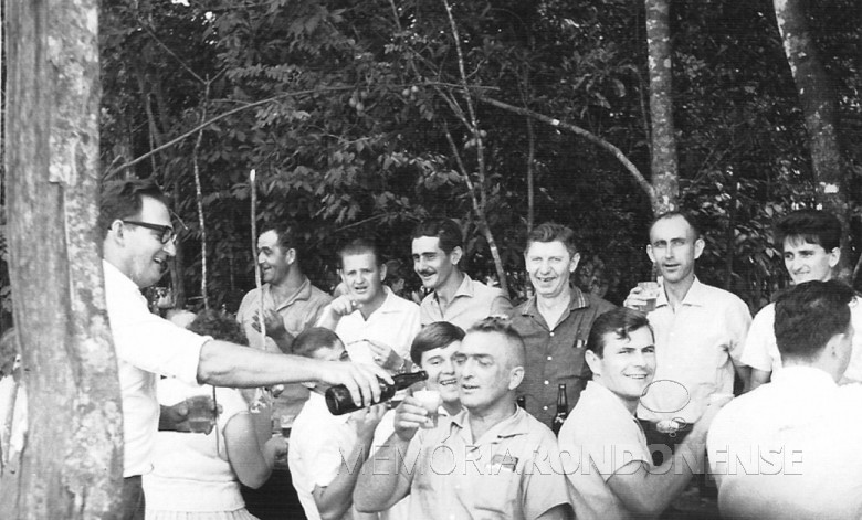 Rondonenses em festa. 1964
