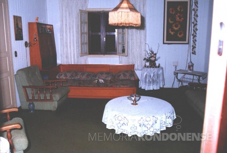 Casa da Família Seyboth - vista interna.